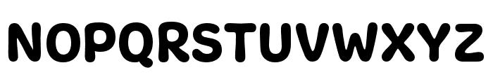 Freude Regular Font UPPERCASE