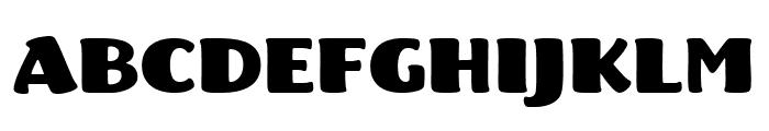 Fritz Robusto Font UPPERCASE