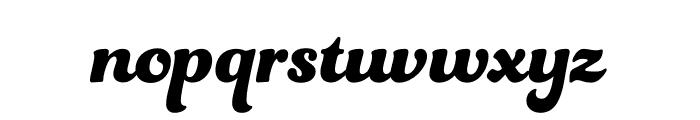 Funkydori Bold Font LOWERCASE