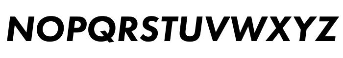 Futura PT Bold Oblique Font UPPERCASE