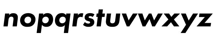 Futura PT Bold Oblique Font LOWERCASE