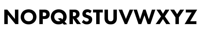 Futura PT Cond Bold Font UPPERCASE