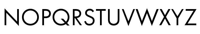 Futura PT Cond Book Font UPPERCASE