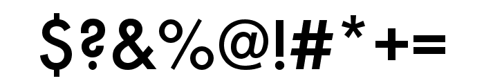 Futura PT Cond Medium Font OTHER CHARS