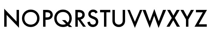 Futura PT Cond Medium Font UPPERCASE
