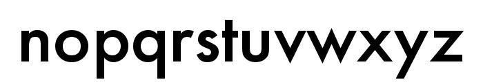 Futura PT Cond Medium Font LOWERCASE