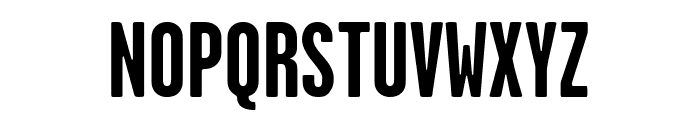 GarageGothic Bold Font UPPERCASE