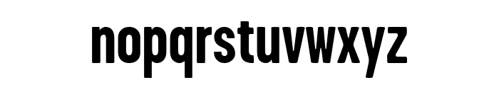 GarageGothic Bold Font LOWERCASE