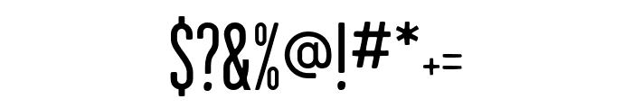 GarageGothic Regular Font OTHER CHARS