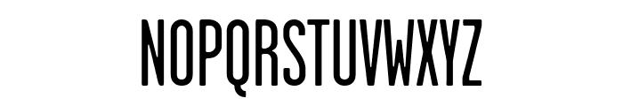 GarageGothic Regular Font UPPERCASE