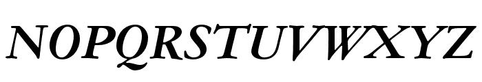 Garamond ATF Text Bold Italic Font UPPERCASE