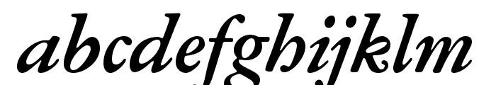 Garamond ATF Text Bold Italic Font LOWERCASE