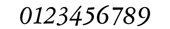 Garamond ATF Text Italic Font OTHER CHARS