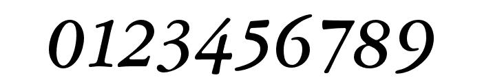Garamond ATF Text Medium Italic Font OTHER CHARS