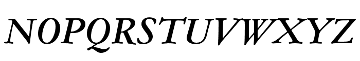 Garamond ATF Text Medium Italic Font UPPERCASE