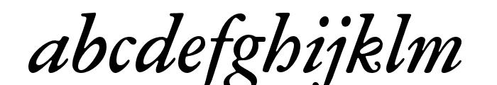 Garamond ATF Text Medium Italic Font LOWERCASE
