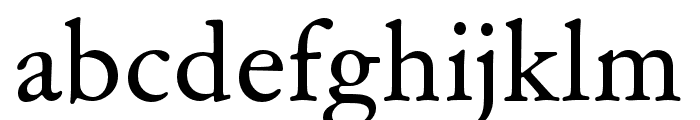 Garamond ATF Text Regular Font LOWERCASE