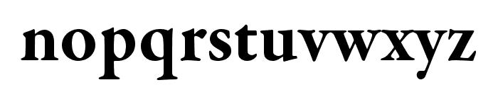 Garamond Premier Pro Bold Display Font LOWERCASE