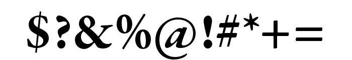 Garamond Premier Pro Bold Font OTHER CHARS