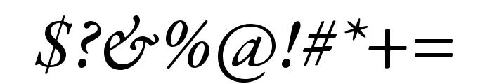Garamond Premier Pro Medium Italic Display Font OTHER CHARS