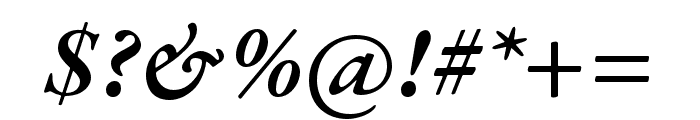 Garamond Premier Pro Semibold Italic Font OTHER CHARS
