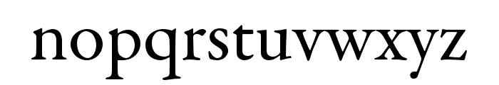 Garamond Premier Pro Subhead Font LOWERCASE