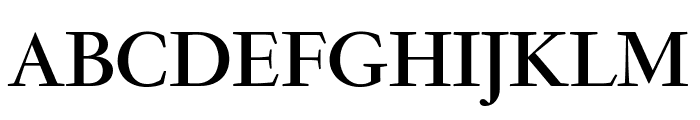 GaramondFBDisplay Bold Font UPPERCASE