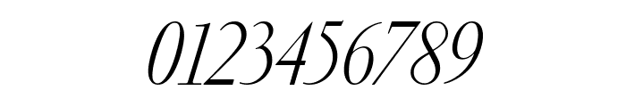 GaramondFBDisplay LightItal Font OTHER CHARS