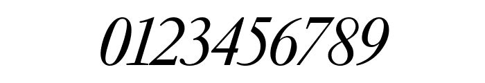 GaramondFBDisplay SemibldItal Font OTHER CHARS