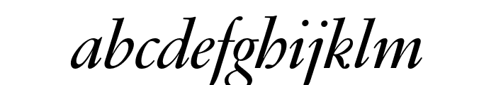 GaramondFBDisplay SemibldItal Font LOWERCASE