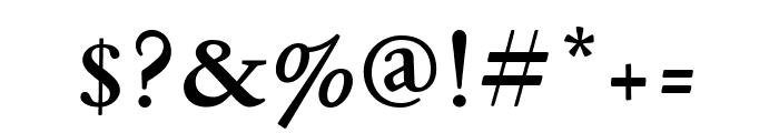 GaramondFBText Bold Font OTHER CHARS