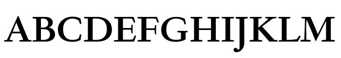 GaramondFBText Bold Font UPPERCASE