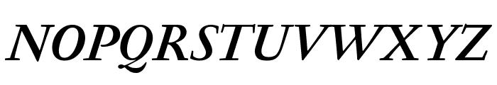 GaramondFBText BoldItal Font UPPERCASE