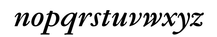 GaramondFBText BoldItal Font LOWERCASE