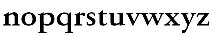 GaramondFBText Bold Font LOWERCASE