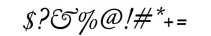 GaramondFBText RegularItal Font OTHER CHARS