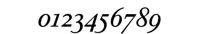 GaramondFBText SemibldItal Font OTHER CHARS