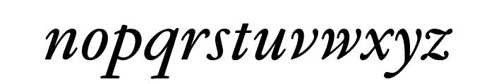 GaramondFBText SemibldItal Font LOWERCASE