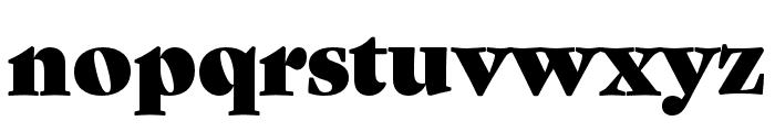 Gastromond Regular Font LOWERCASE