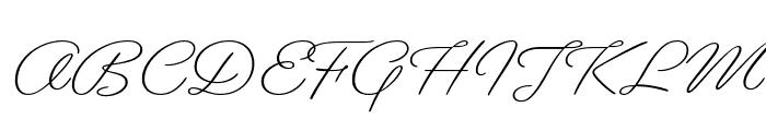 Gautreaux Light Font UPPERCASE