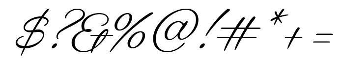 Gautreaux Medium Font OTHER CHARS