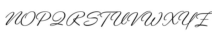 Gautreaux Medium Font UPPERCASE