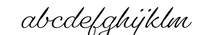 Gautreaux Medium Font LOWERCASE