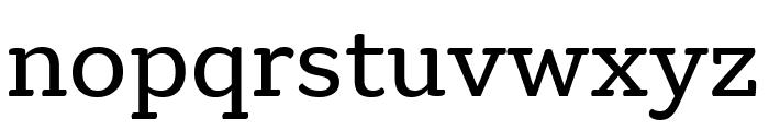 Gelo Regular Font LOWERCASE