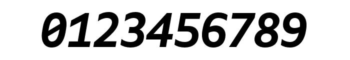 Gemeli Mono Bold Italic Font OTHER CHARS