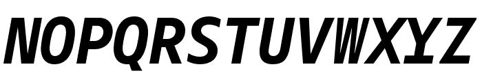 Gemeli Mono Bold Italic Font UPPERCASE