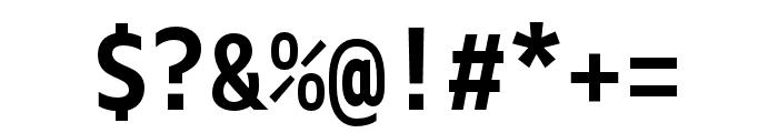 Gemeli Mono Bold Font OTHER CHARS