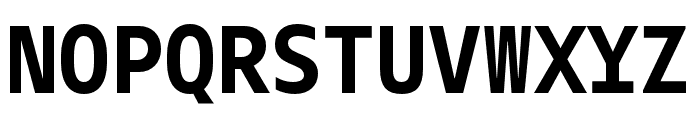 Gemeli Mono Bold Font UPPERCASE