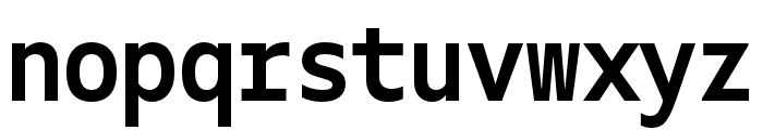 Gemeli Mono Bold Font LOWERCASE