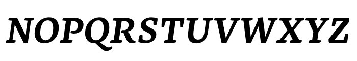 Geneo Std Bold Italic Font UPPERCASE